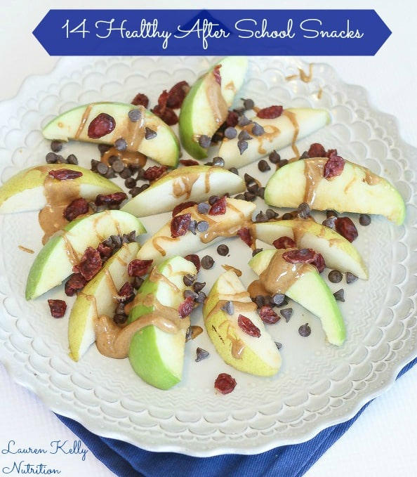 My Collection of Healthy After School Snacks ~ Lauren Kelly Nutrition