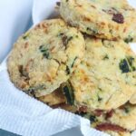Cheesy Bacon and Kale Biscuits {Gluten-Free}