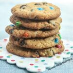 Birthday Chocolate Chip Cookies {Vegan, Healthy}