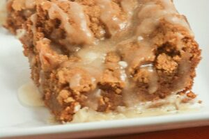Pumpkin Bars with Maple Browned Butter Icing | Lauren Kelly Nutrition
