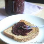 Blueberry Pomegranate Chia Seed Jam and My Trip to Cascadian Farms