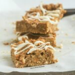 Slow Cooker White Chocolate Pumpkin Bars