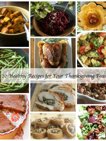 20 Healthy Thanksgiving Dishes