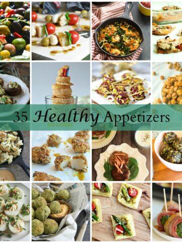 35 Healthy Appetizers from Lauren Kelly Nutrition