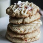 Peppermint Crunch Cookies {Healthier, Low Fat}