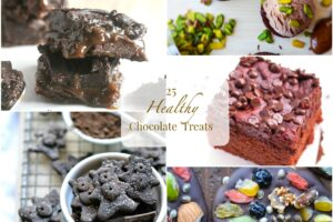 25 HEALTHY Chocolate Treats from Lauren Kelly Nutrition #ValentinesDay