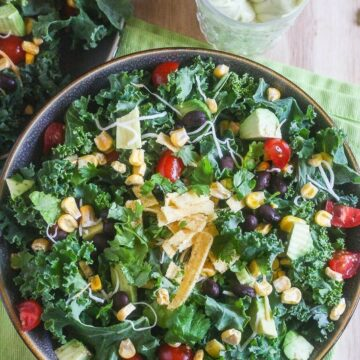 Chopped Mexican Kale Salad from Lauren Kelly Nutrition