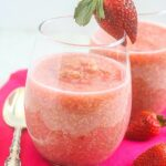 Strawberries and Cream Quinoa Pudding {Vegan, Gluten-Free, Dairy-Free, High Protein}
