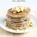 Apple Cinnamon Pancakes {Vegan, Dairy-Free, Whole Grain}
