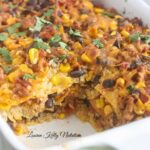Mexican Quinoa Lasagna {Gluten-Free, Quick and Easy}