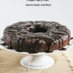 Triple Chocolate Cake {Vegan, Dairy-Free}
