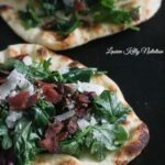 Kale Bacon Manchego Pizza