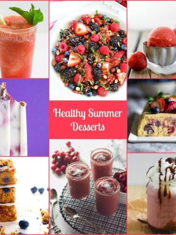 Healthy Summer Desserts from Lauren Kelly Nutrition
