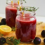 Sparkling Black Cherry Lemonade {Sugar-Free, Easy, Vegan}