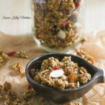 Slow Cooker Pumpkin Quinoa Granola {Vegan, Gluten-Free, Dairy-Free}