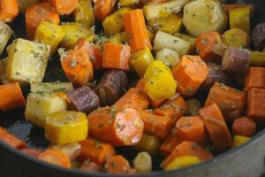 Maple Glazed Carrots make the perfect side dish!