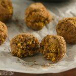 Healthy No Bake Pumpkin Spice Donut Holes {Vegan, Gluten-Free}