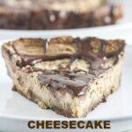 Cheesecake with Ginger Snap Crust lightened up with Greek yogurt