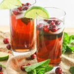 Cranberry Mojito {Sugar-Free Option}