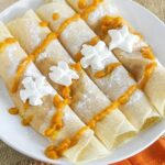 Pumpkin Filled Crepes {Gluten-Free}