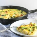Roasted Vegetable Turkey Frittata {Gluten-Free, Healthy, Easy}