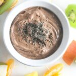 Chocolate Peanut Butter Greek Yogurt Dip {Easy, 5 Ingredients}
