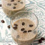 Cappuccino Chia Pudding {Vegan, Low-Carb, Gluten-Free, Dairy-Free, Sugar-Free}