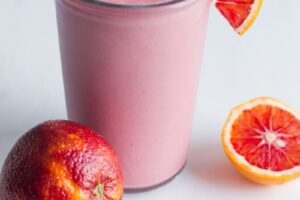 Blood Orange Smoothie from Back to Her Roots