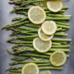 Roasted Asparagus and Lemon {Vegan, Dairy-Free}