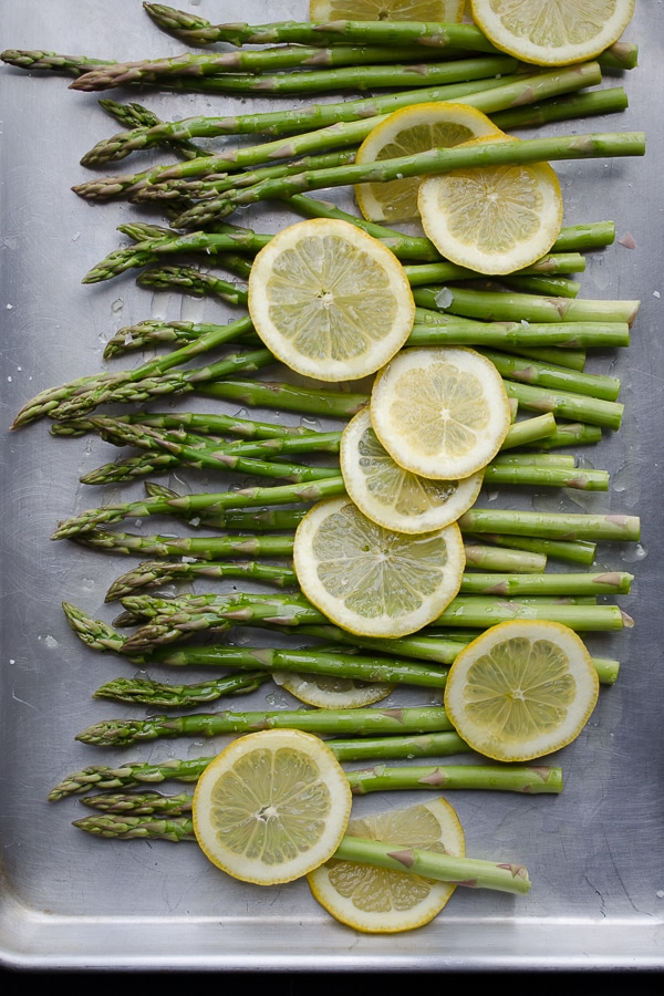 Roasted Asparagus and Lemon from Taste, Love and Nourish