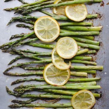 Roasted Asparagus and Lemon from Taste, Love, Nourish
