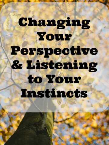 Changing Your Perspective & Listening to Your Instincts from Lauren Kelly Nutrition