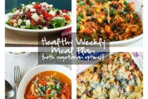 Healthy Weekly Meal Plan 4.23.16