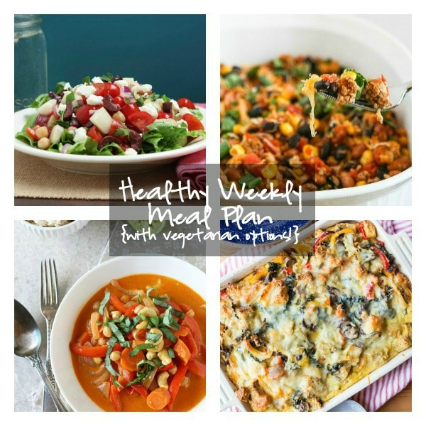 Healthy Weekly Meal Plan 4.23.16