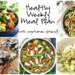 Healthy Weekly Meal Plan 4.30.16