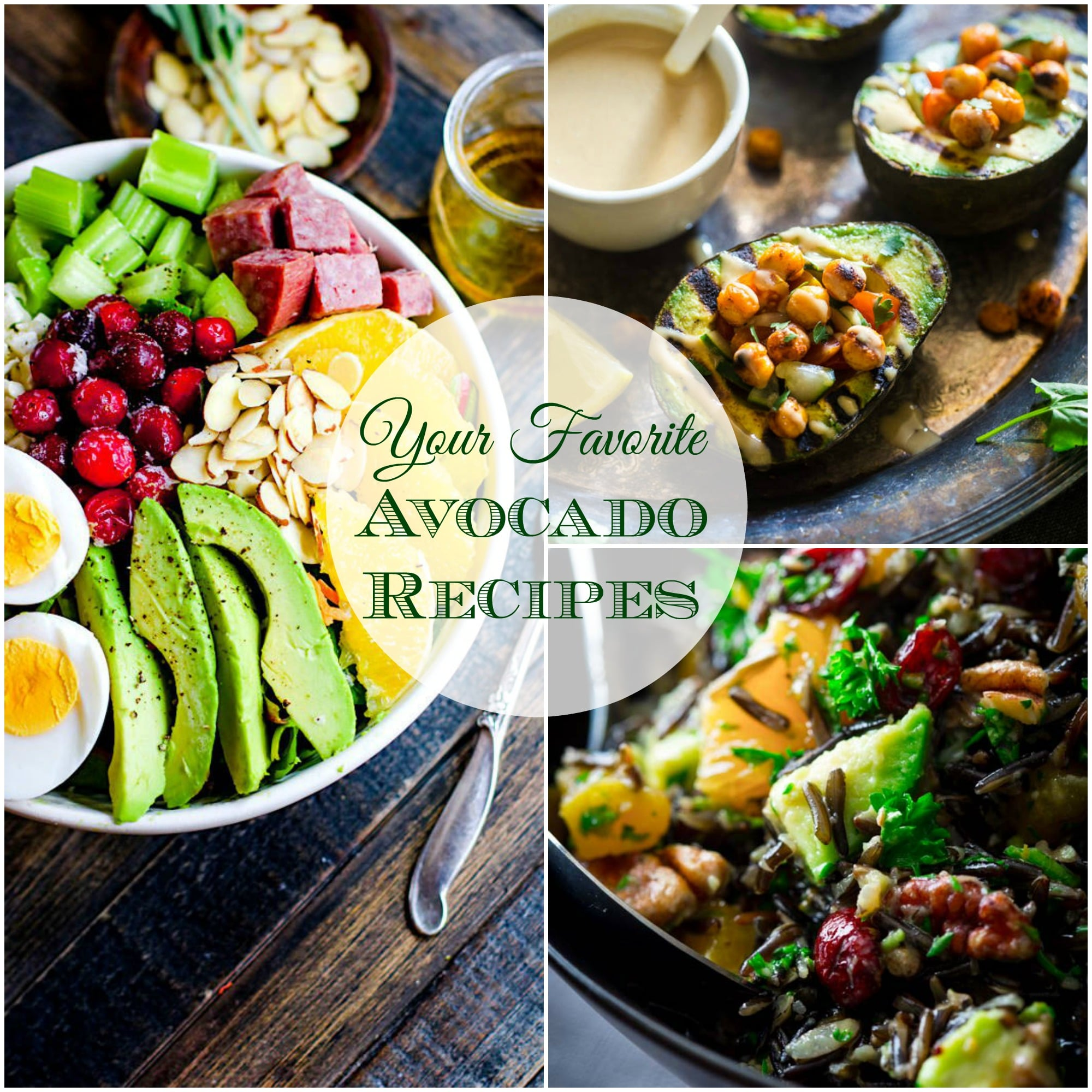 All of Your Favorite Avocado Recipes right here! from Lauren Kelly Nutrition