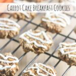 Carrot Cake Breakfast Cookies with Cream Cheese Icing {Gluten-Free}