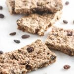 Almond Oatmeal Raisin Bars {Gluten-Free, Dairy-Free, Vegan, Easy}