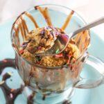 Vanilla Chai Protein Mug Cake {Vegan, Gluten-Free, Dairy-Free}