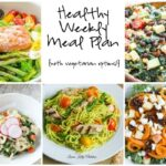 Healthy Weekly Meal Plan 5.14.16
