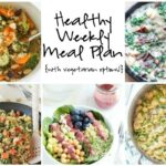 Healthy Weekly Meal Plan 5.21.16