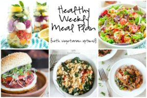 Healthy Weekly Meal Plan 5.28.16