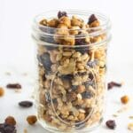 Roasted Chickpea Trail Mix {Vegan, Gluten-Free, Dairy-Free}
