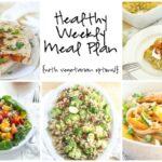 Healthy Weekly Meal Plan 5.7.16