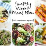Healthy Weekly Meal Plan 6.11.16