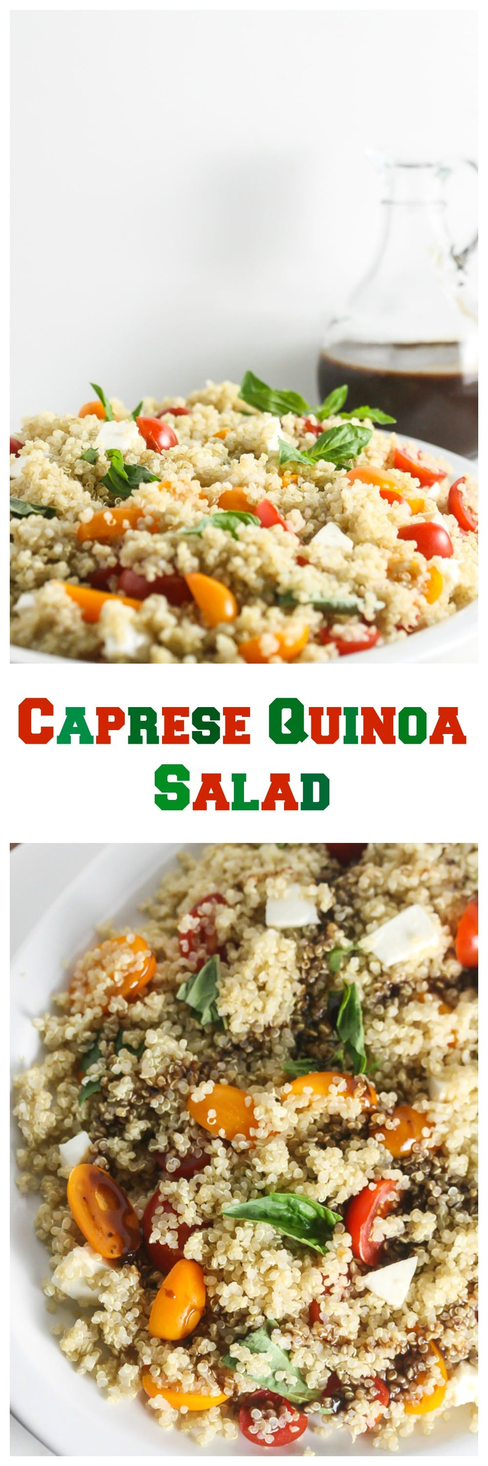 Caprese quinoa salad gluten free vegetarian this caprese quinoa salad is simple to make healthy and delicious even carnivores will forumfinder Images