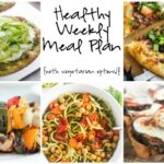 Healthy Weekly Meal Plan 7.9.16