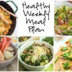 Healthy Weekly Meal Plan 8.20.16