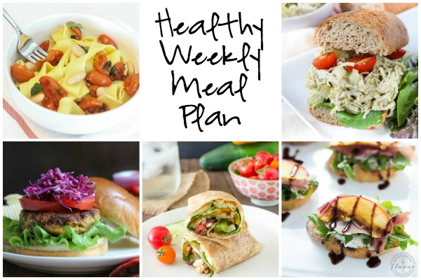 Healthy Weekly Plan 8.6.16