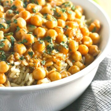 Chickpea Tikki Masala from Not Your Mama's Canning Book